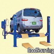KT-522 Car Lift with Hydraulic Two-Level Jack and Electric Actuated Safety Lock