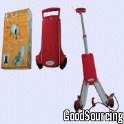 DYS-0801 Portable and Foldable Luggage Cart Made of Aluminum and ABS