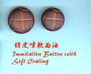 Immitation (Spray) Button w Soft Coating