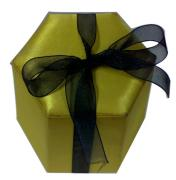 HEXAGON GIFT BOX WITH RIBBON