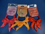 Schoolies-Ribbon Bow Ponytail Holders (2pcs)